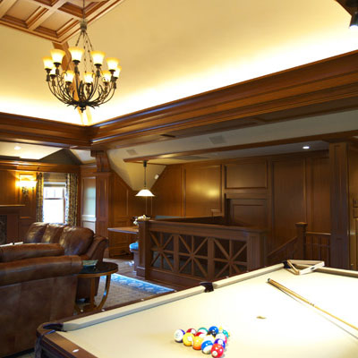 Classic Billiard Room