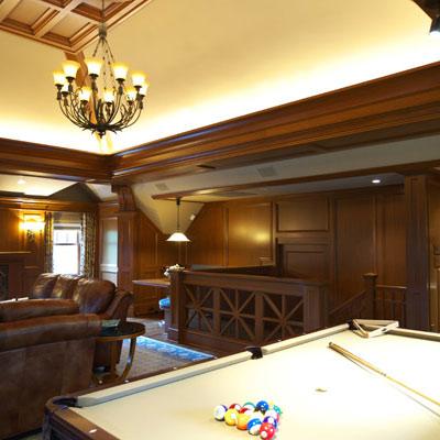 Classic Billiard Room